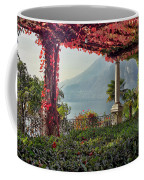 Villa Cipressi Pergola On Lake Como I Coffee Mug