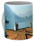 Villa Monastero Rooftop And Lake Como Coffee Mug