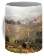 Villa On A Hill In Tuscany Coffee Mug