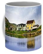Village In Newfoundland Coffee Mug by Elena Elisseeva