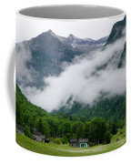 Village In The Alps Coffee Mug