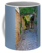 Village Lane Provence France Coffee Mug