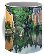 Village Reflections In Luxembourg II Coffee Mug