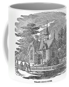Village Schoolhouse, C1840 Coffee Mug