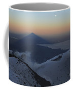 Villarrica, Summit View With Shadow Coffee Mug