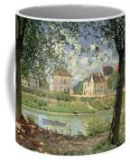 Villeneuve La Garenne Coffee Mug by Alfred Sisley