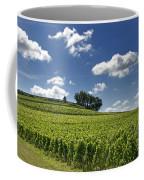 Vineyard Of Saint-emilion. Gironde. Aquitaine. France Coffee Mug