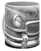 Vintage 1951 Nash Ambassador Front End 2 Bw Coffee Mug