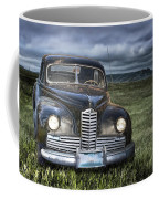 Vintage Auto On The Prairie Coffee Mug