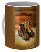 Vintage Baby Shoes Coffee Mug