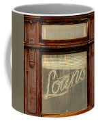 Vintage Bank Sign Coffee Mug