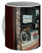 Vintage Bicycle And American Junk  Coffee Mug