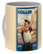 Vintage Holland Travel Poster Coffee Mug