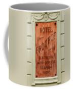 Vintage Hotel Sign 3 Coffee Mug