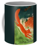 Vintage Hunting In The Ussr Travel Poster Coffee Mug