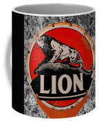 Vintage Lion Oil Sign Coffee Mug