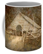 Vintage Looking Old Barn In The Great Smokey Mountains Coffee Mug