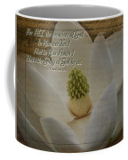 Vintage Magnolia With Verse Coffee Mug