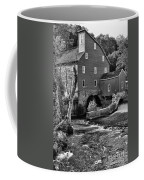 Vintage Mill In Black And White Coffee Mug