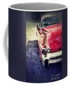 Vintage Red Car Coffee Mug