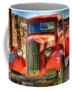 Vintage Red Dodge Coffee Mug
