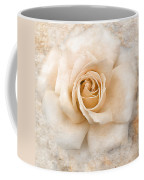 Vintage Rose V Square Coffee Mug