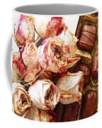Vintage Roses And Chocolates Painterly Coffee Mug