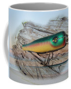 Vintage Saltwater Fishing Lure - Masterlure Rocket Coffee Mug