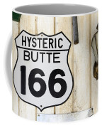 Vintage Sign Hysteric Butte 166 Coffee Mug