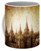 Vintage Slc Temple Coffee Mug by La Rae  Roberts