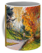 Viola In A Nice Autumn Day  Coffee Mug