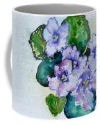 Violet Cluster Coffee Mug