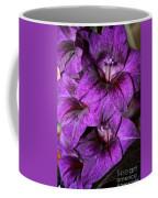 Violet Glads Coffee Mug