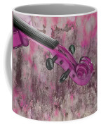 Violinelle - Pink 03b2 Coffee Mug by Variance Collections