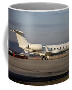 Vip Jet C-37a Of Supreme Headquarters Coffee Mug by Timm Ziegenthaler