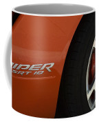 Viper Srt 10 Emblem And Wheel Coffee Mug