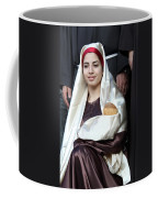 Virgin Mary And Baby Jesus At 4th Annual Christmas March Coffee Mug