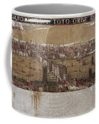Visscher: London, 1650 Coffee Mug