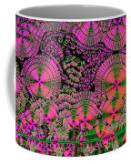 Vitamin C Crystals Spikeberg Coffee Mug by M I Walker