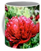 Vivid Peonies Coffee Mug