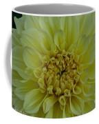Vivid Yellow Dahlia Coffee Mug