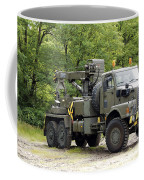 Volvo N10 Truck Crane Of The Belgian Coffee Mug by Luc De Jaeger
