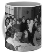 Voting Poll, 1922 Coffee Mug