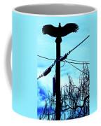 Vulture On Phone Pole Coffee Mug