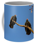 Vultures On A Branch Coffee Mug