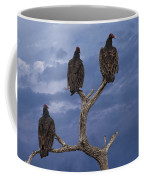 Vultures Perched On A Branch No.0022 Coffee Mug