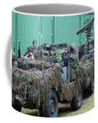 Vw Iltis Jeeps Of A Recce Scout Unit Coffee Mug