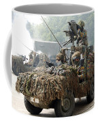 Vw Iltis Jeeps Used By Scout Or Recce Coffee Mug