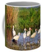 Wading Ibises Coffee Mug
