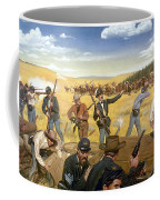 Wagon Box Fight, 1867 Coffee Mug